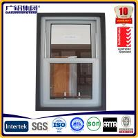 Wholesale American Style aluminium single hung windows double hung windows from china suppliers