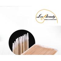 Wholesale Wood Cusp Cotton Swab Disposable Hygienic Products For PMU & Microblading from china suppliers