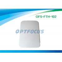 Quality Small LightWeight 2 Holes Cable Terminal Box Indoor FTTH Customer Φ7 Φ14 for sale