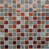 Buy cheap Glass Mosaic for Wall and Floor-golden Paper Series(MJ809) from wholesalers