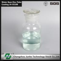 Chrome Free Water Based Zinc Flake Coating Salt Fog Time 480 Hours  PH ( 20℃ ) 5.0-8.0