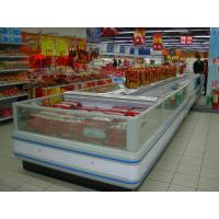 Wholesale Refrigeration Condensing Unit Island Display Freezer With Night Curtain from china suppliers