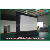 Wholesale Outdoor Giant  Inflatable Movie Screen Customized for Advertising / Amusement from china suppliers