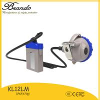 Buy cheap LED miners corded 3.7v led cap light safety head lamp spotlight torch 25000lux brightness from wholesalers