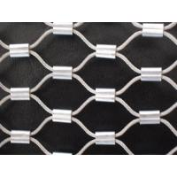 Wholesale Marine Grade Stainless 316 Wire Rope Mesh,Steel Wire Rope Woven Mesh,Seawater Corrosion from china suppliers