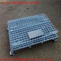 Wholesale Folding Storage Cage/security cage/pallet cage/steel storage sheds/steel storage containers/wire security cage from china suppliers