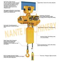 Wholesale Compact  0.5 ton 2 Ton Electric Hoist  For Crane / Travelling Type / Fixed Type from china suppliers