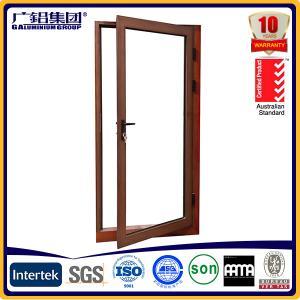 Buy cheap aluminium glass casement swing and hinged doors from wholesalers