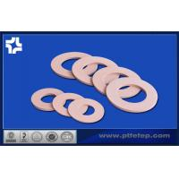 Buy cheap Color ptfe teflon gasket heat resistance property / good mechanical property from wholesalers