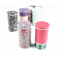 Wholesale Glossy Lamination Round Metal Biscuit Tins For Wedding Anniversary Gift Packaging from china suppliers