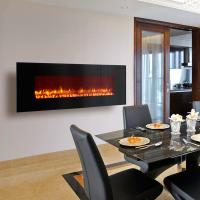 "Wholesale 72"" wall mounted fireplace LED modern real coal flame www.knsing.com from china suppliers"