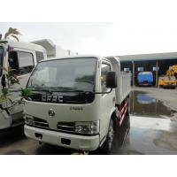 Wholesale dongfeng brand single row cheapest price 4*2 LHD 3tons-5tons dump garbage truck for sale, dongfeng 4tons tipper truck from china suppliers