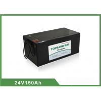 Wholesale 24V 150Ah LiFePO4 Electric Forklift Battery Deep Cycle Over 2000 cycles @ 100 % DOD from china suppliers