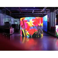 Wholesale P4 RGB LED Display Pixel Density 62500 , SMD flexible led screen 3G WIFI from china suppliers