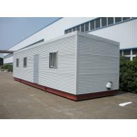 Wholesale High Insulation Eco Log Cabin Modular Homes , Green Prefab Modular Log Homes from china suppliers