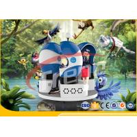 Wholesale Amazing Blue 9D Virtual Reality Simulator ,  VR Game 9D Action Cinema CE Approved from china suppliers