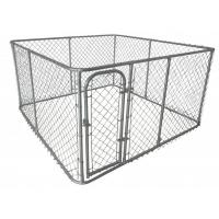 Wholesale Large outdoor chain link dog kennels & dog cages & dog runs dog fence (manufacture) from china suppliers