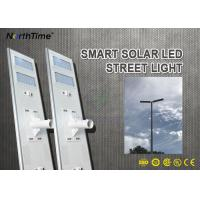Wholesale 120 W High Power Waterproof All In One Solar Street Light LED Outdoor IP65 from china suppliers