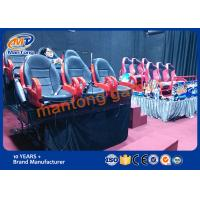 Wholesale Dynamic 7d Movie Theater , Interactive 7D Cinema Equipment Large Screen from china suppliers