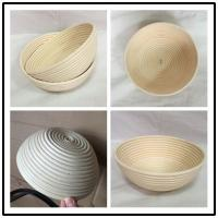 Wholesale 9inch Natural Rattan Cane Bread Banneton Proofing Basket from china suppliers
