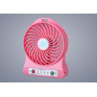 Wholesale Portable Small Quiet Fan For Desk 3 Gears Type Energy Saving On / Off Swith from china suppliers