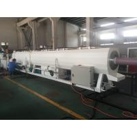 Wholesale Plastic Pipe Extrusion Line For PVC Pressure Water Pipe 400Kg/H - 600Kg/H MAX Output from china suppliers