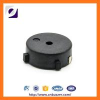 Quality SMD 12V Buzzer Alarm , Black PPS SMT Piezo Transducer for sale