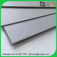 Wholesale Raw material good price 1mm 1.5mm 2mm 2.5mm 3mm laminated grey chipboard from china suppliers
