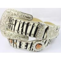 Quality concho sunflower glass belts for jean with diamond stones for sale