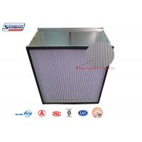 Wholesale Disposable Galvanized Steel Frame High Efficiency Air Filter with HV Fiberglass Media from china suppliers