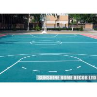 Wholesale PP Recycled Indoor Sports Flooring Waterproof For Exercise Room from china suppliers