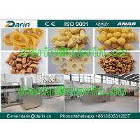 Wholesale CE Certification Corn Cheese Ball Puff Snack Maker Machine twin screw extruder from china suppliers