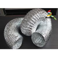 Wholesale 6 Aluminum Flexible Duct , Fire Resistant Flexible Ventilation Ducting from china suppliers