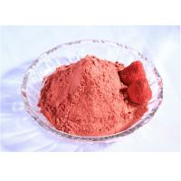Wholesale Organic freeze dried Strawberry Powder 100% Natural Strawberry Extract Powder 20:1 from china suppliers