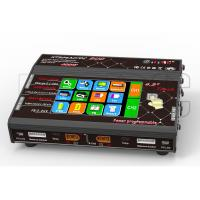 Wholesale 2x200W professional Touch Screen Lipo Charger two Channel Black Red from china suppliers