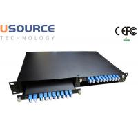Wholesale 1 x 16 1 x 8 PON Application TFF CWDM Mux Demux  Rack Mounted Multiplexers from china suppliers