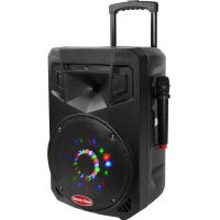 Wholesale Bluetooth DJ Portable Trolley Speakers / Usb Portable Speaker With Led Flash Light from china suppliers