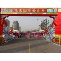 Wholesale White Waterproof Canvas Tent Aluminum Alloy Material Outdoor for Food Festival from china suppliers