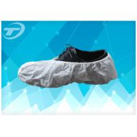 Wholesale SPP Fabric Disposable Waterproof Shoe Covers Handmade Or Machine Made from china suppliers