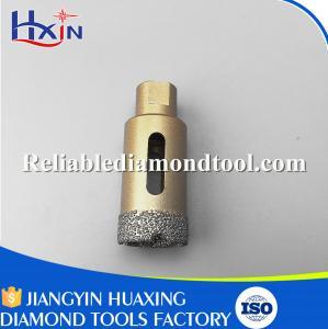 Quality Total Length 60mm Diamond Length 10mm M10 Brazed Diamond Core Drill Bit China for sale