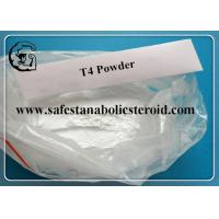 Wholesale T4 Fat Loss Hormones Levothyroxine Sodium For Burning Fat CAS 25416-65-3 from china suppliers