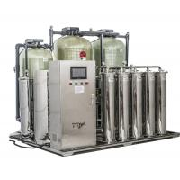 Quality 500LPH Dialysis Water Purification Double Stage Reverse Osmosis System for sale