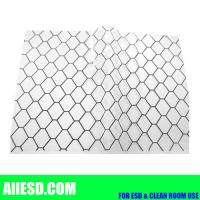 Wholesale Transaprent 0.5mm thickiness conductive PVC grid sheet from china suppliers