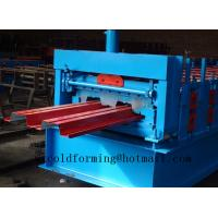 Automated PLC Control  High Precision Steel Structure Floor Deck Roll Forming Machine For Metal Decking Sheet