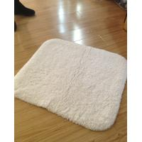 Wholesale 100% Cotton White Long hair without logo Bath mat 60*90cm For Hotel Towels from china suppliers