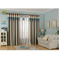 Wholesale Textile Decoration Jacquard Window Curtains Fabric Heat Insulation For Guest Room from china suppliers