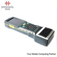 Wholesale Waterproof Mobile Thermal Printer Android 4.0 Hand Barcode Scanner , Phone Call Function from china suppliers
