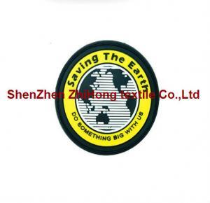 Wholesale Customized logo design PVC badge/medal/epaulet/armband from china suppliers