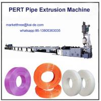 Wholesale Plastic pipe making machine for PERT heating pipe China supplier from china suppliers