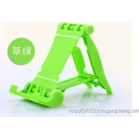 Wholesale Green Desktop Silicone Mobile Phone Stand Metal Snap for Smartphone Tablet PC from china suppliers
